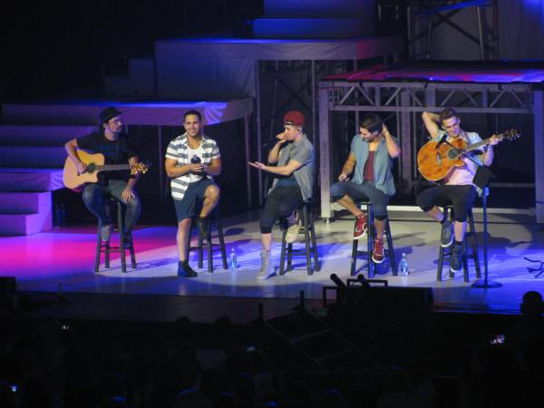 BTR at Mohegan Sun 7/20/13.